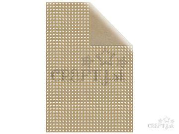 Baliaci papier 70x200cm - biele srdiečka