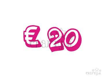 Darčeková poukážka v hodnote € 20