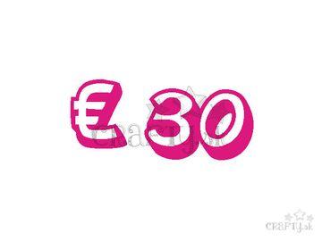 Darčeková poukážka v hodnote € 30