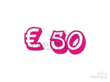 Darčeková poukážka v hodnote € 50
