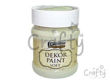 Dekor Paint - kriedová vintage farba 230ml - lišajníková zelená