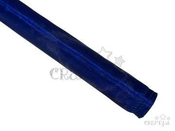 Dekoračná organza 36cm - kráľovská modrá