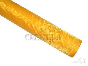 Dekoračná organza 36cm - slnečnicová