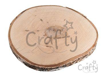 Drevená podložka - rezaný kmeň plát 28-32cm