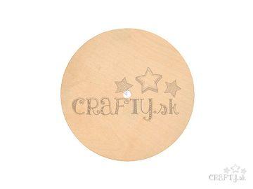 Dýhová podložka k hodinám kruh 18cm 3mm