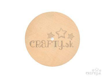 Dýhová podložka k hodinám kruh 18cm