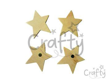 Dýhové magnetky hviezdičky - 4ks