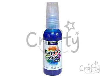 Farba na textil 50ml sprej - modrá