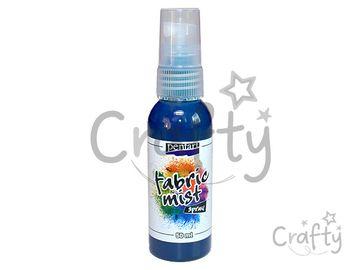 Farba na textil 50ml sprej - tyrkysová