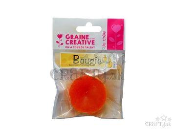 Farbivo do vosku tuhé - 20g - pastelovo oranžové