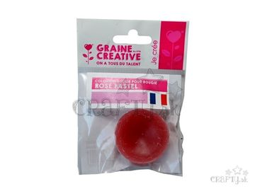 Farbivo do vosku tuhé - 20g - pastelovo ružové