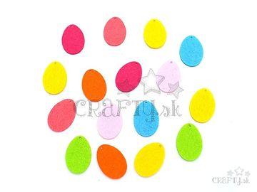 Filcové výrezy 3cm - mini vajíčka