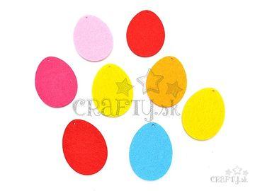 Filcové výrezy 5cm - vajíčka