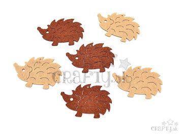 Filcové výrezy 6cm - ježkovia