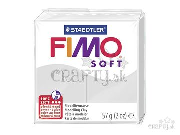 Modelovacia hmota FIMO soft 56g - delfínia sivá