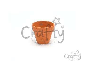 Hlinený kvetináč - črepník 3,5cm