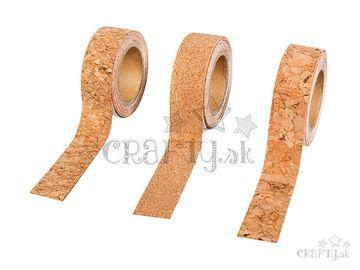 Korkové samolepiace pásky - 3x1m