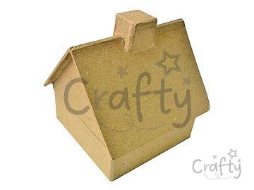 Krabička domček z Papier-mâché