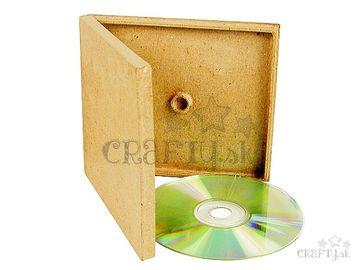 Krabička na CD, DVD z Papier-mâché