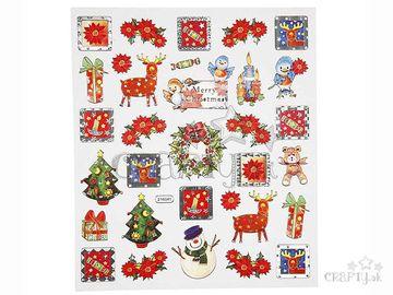 Kreatívne nálepky - Vianočné
