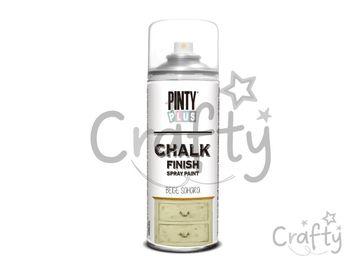 Kriedová farba Chalk Finish PINTY PLUS 400ml - béžová sahara