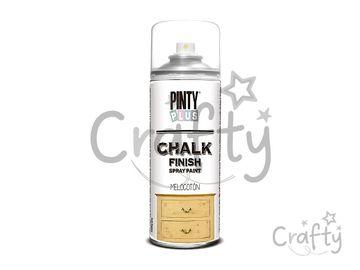 Kriedová farba Chalk Finish PINTY PLUS 400ml - broskyňová
