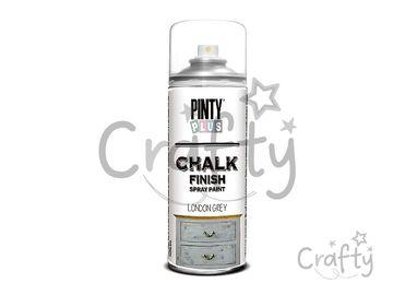Kriedová farba Chalk Finish PINTY PLUS 400ml - londýnska zelená