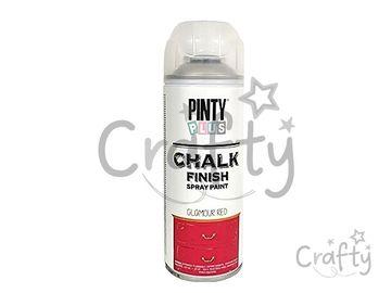 Kriedová farba Chalk Finish PINTY PLUS 400ml - magická červená