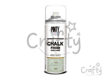 Kriedová farba Chalk Finish PINTY PLUS 400ml - mentolová zelená