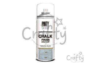 Kriedová farba Chalk Finish PINTY PLUS 400ml - svetlá tyrkysová
