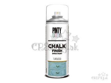 Kriedová farba Chalk Finish PINTY PLUS 400ml - tyrkysová