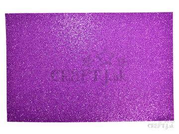 Machová guma MOOSGUMMI s glitrami - fialová