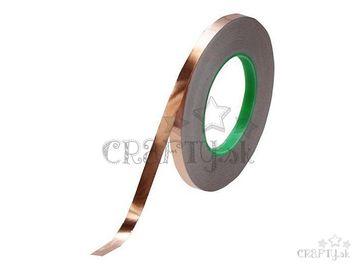 Medená samolepiaca páska na Tiffany - 5,56 mm