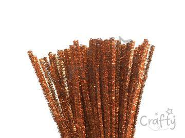 Metalický žinilkový drôt 6mm - medený
