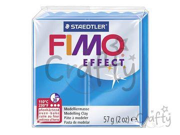 Modelovacia hmota FIMO Effect 56g - priehľadná modrá