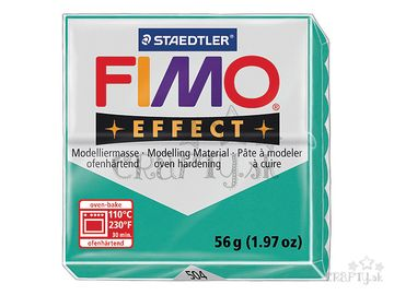 Modelovacia hmota FIMO Effect 56g - priehľadná zelená