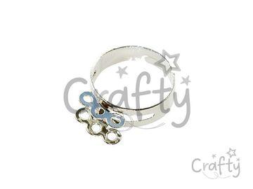 Nastaviteľný prsteň - 6 očiek