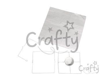 Nehorľavý papierový závesný lampáš 20cm