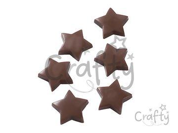 Odlievacia forma na čokoládu - hviezdičky