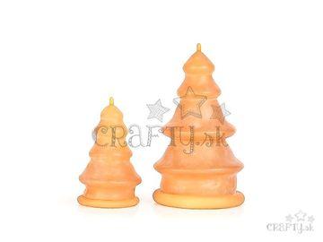 Odlievacie silikónové formy na sviečku - stromčeky