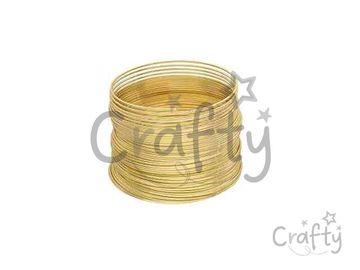 Pamäťový drôt 65mm - zlatý