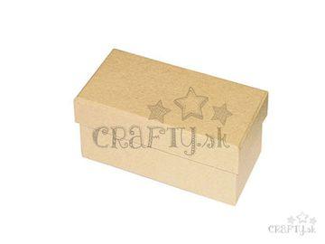Papier-mâché krabička 14x7x5cm
