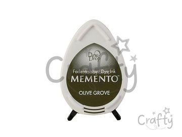 Pečiatková poduška MEMENTO - Olive Grove