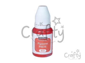 Pigmentová pasta 20ml - červená