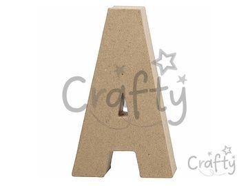 Písmeno z papier-mâché 20,5cm - A