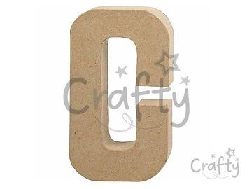 Písmeno z papier-mâché 20,5cm - C