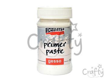 Podkladová pasta PENTART - 100ml biela - GESSO