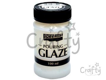 POURING GLAZE - glazúrový lesklý lak 100 ml