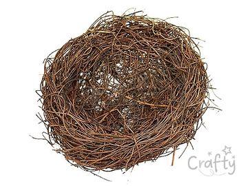 Prútené hniezdo 12cm