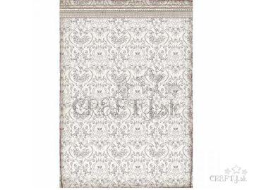 Ryžový papier A3 - tapeta s ornamentmi